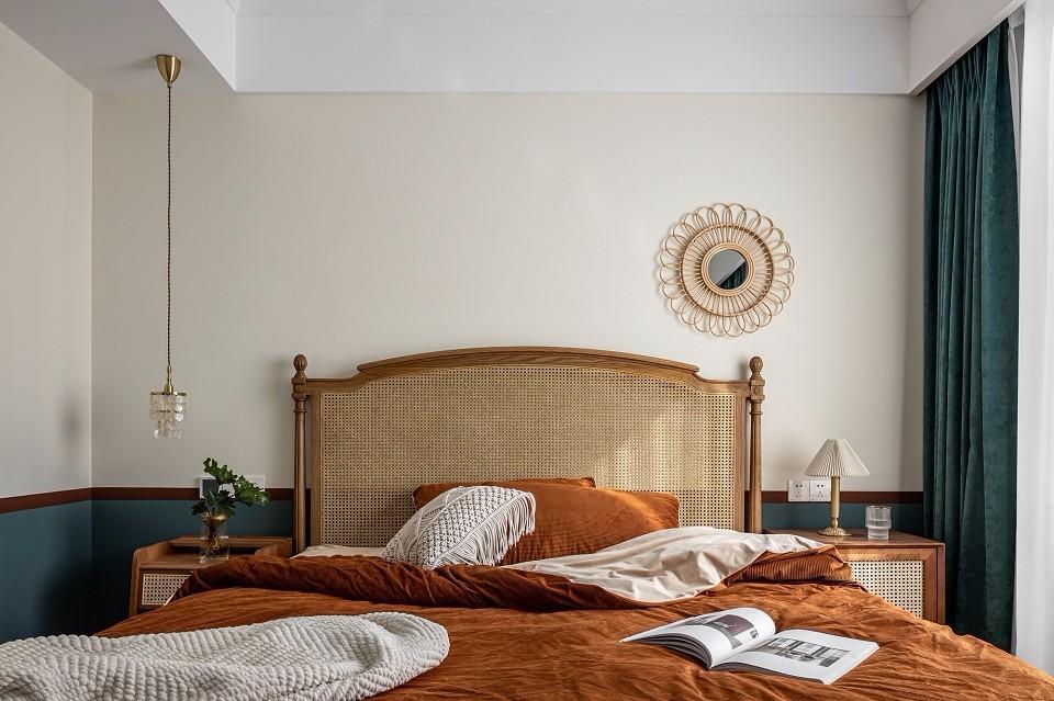 2020复古卧室装修设计图片 2020复古吊顶效果图