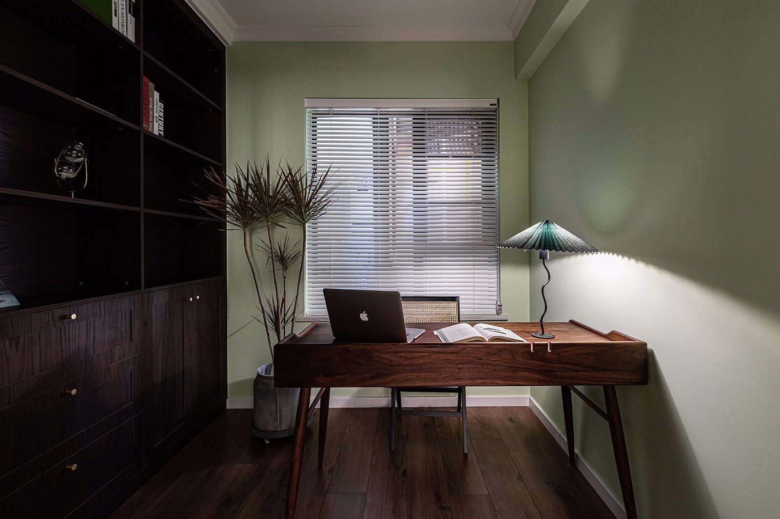 2020复古书房装修设计 2020复古书桌图片