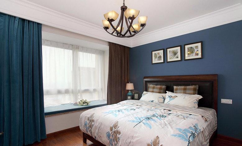 2021复古卧室装修设计图片 2021复古背景墙装饰设计