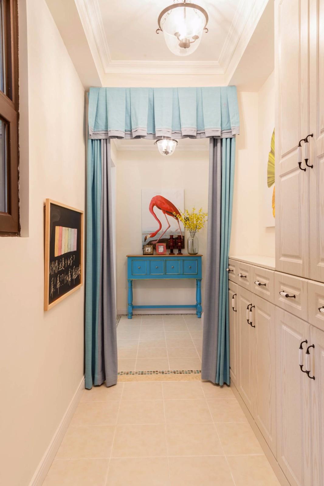 美式120平三居室裝修效果圖