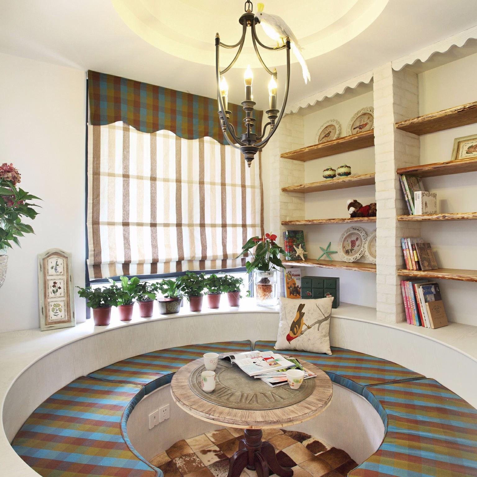 2020地中海卧室装修设计图片 2020地中海茶几设计图片
