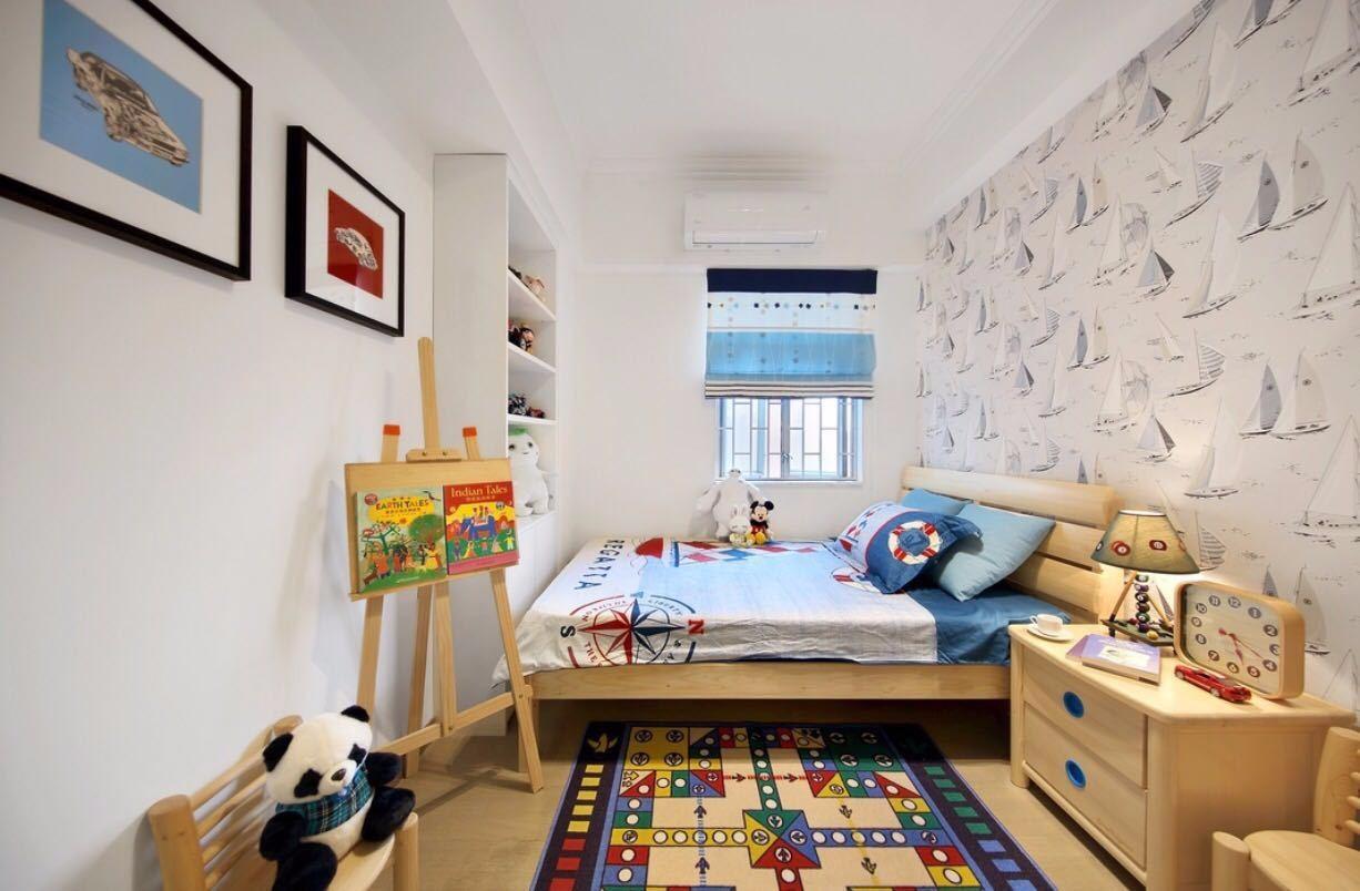 2020北歐兒童房裝飾設計 2020北歐照片墻裝修圖片