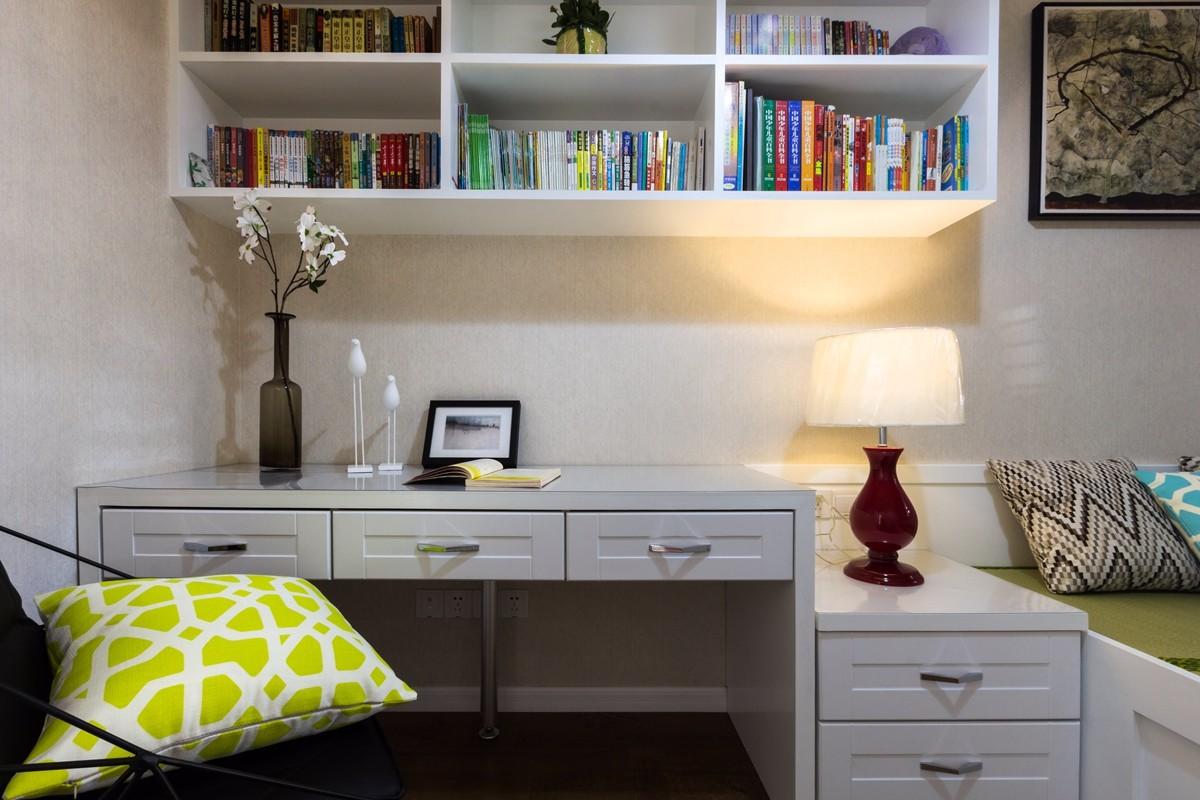 2020现代简约卧室装修设计图片 2020现代简约书桌装修图