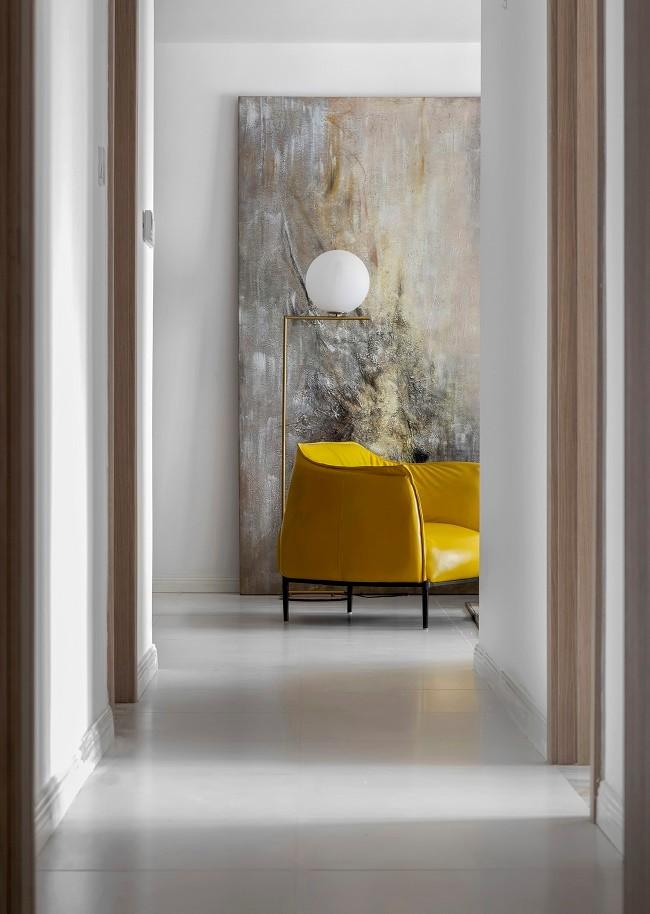2020现代简约玄关图片 2020现代简约走廊装修效果图片