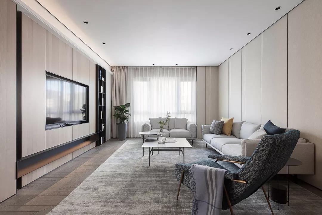2021简单客厅装修设计 2021简单吊顶设计图片