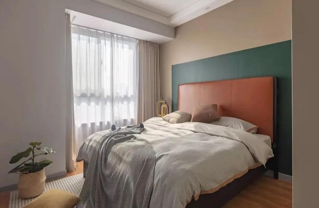 2020现代简约卧室装修设计图片 2020现代简约背景墙装饰设计