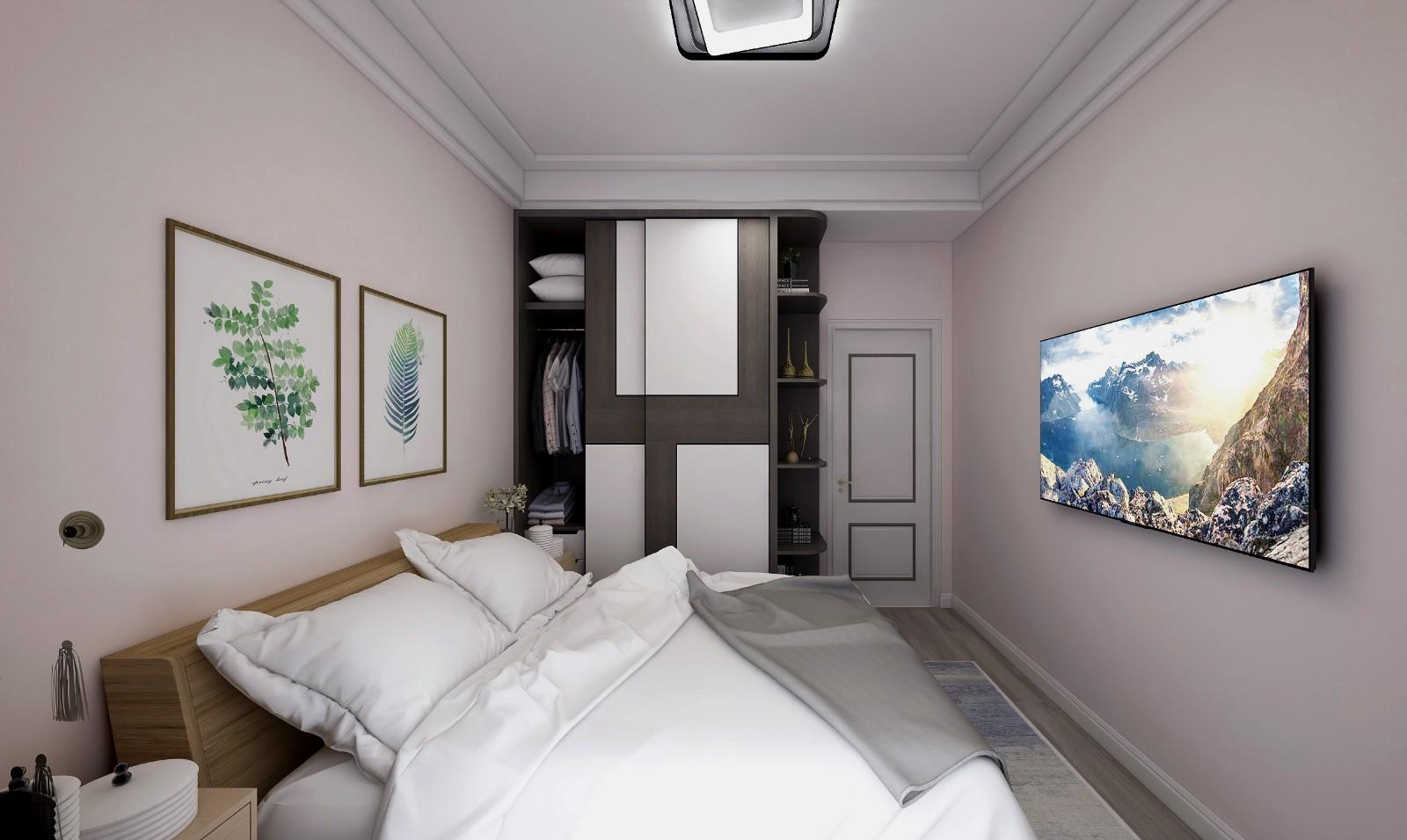 2020现代卧室装修设计图片 2020现代橱柜装修设计