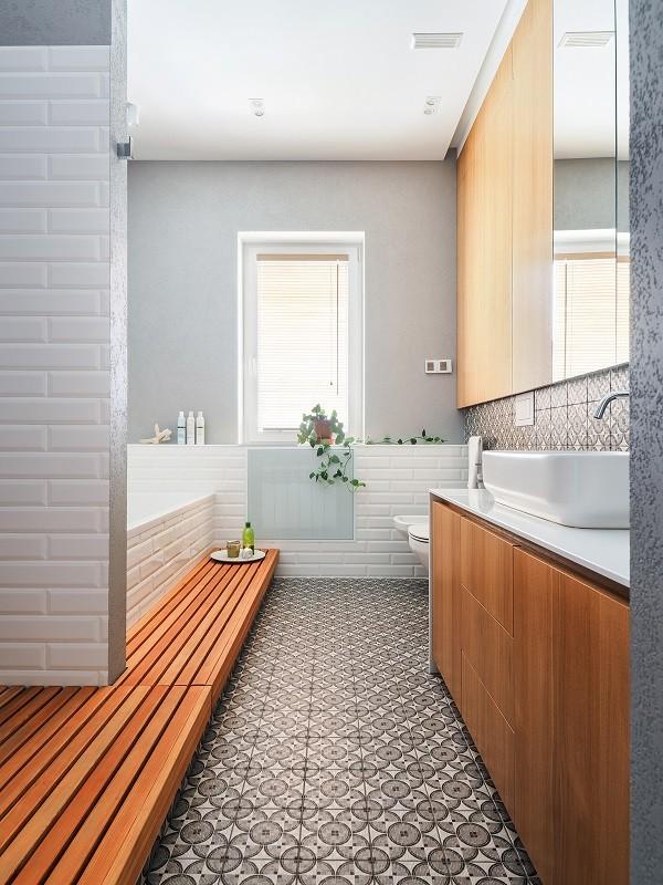 2021现代浴室设计图片 2021现代地板砖装饰设计
