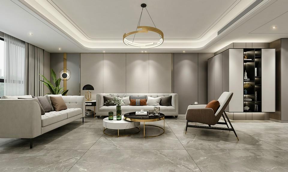 2021简单240平米装修图片 2021简单三居室装修设计图片