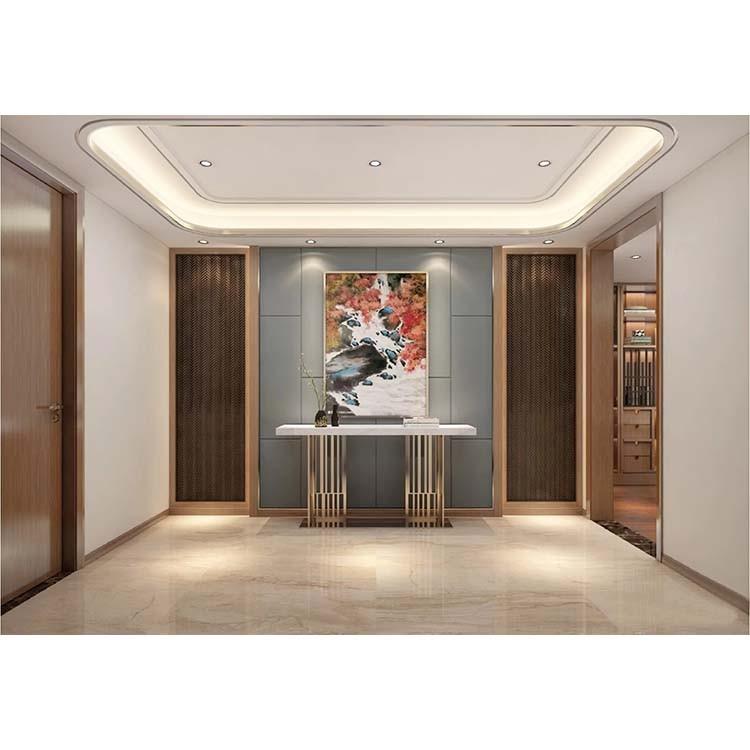 2021现代客厅装修设计 2021现代推拉门装修设计图片