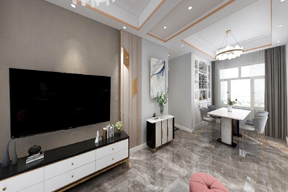 4室2卫2厅130平米现代简约风格