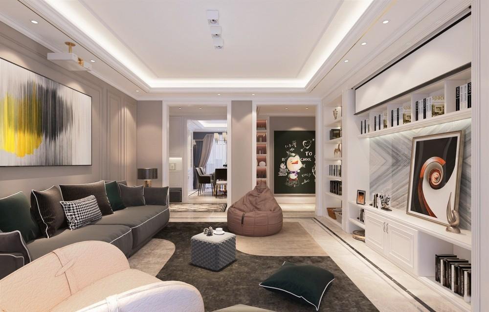 3室2卫2厅150平米简约风格