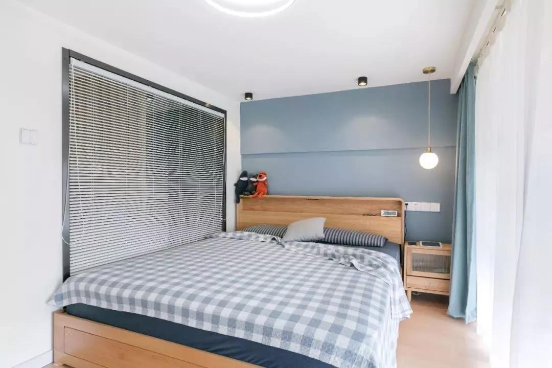 2021现代简约卧室装修设计图片 2021现代简约隐形门装饰设计