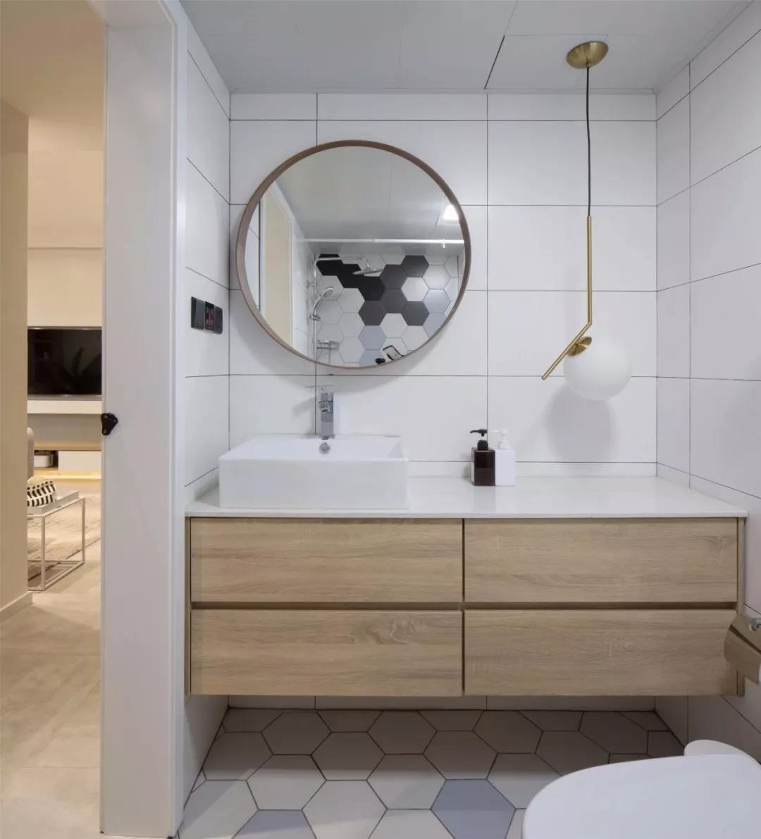 2021现代简约浴室设计图片 2021现代简约细节图片