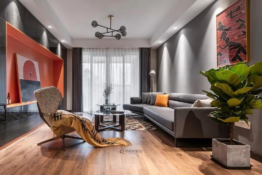 2021简约90平米装饰设计 2021简约二居室装修设计