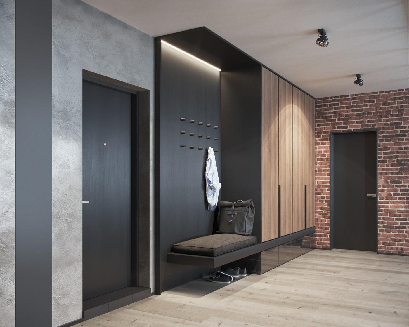 2021工业客厅装修设计 2021工业地板效果图