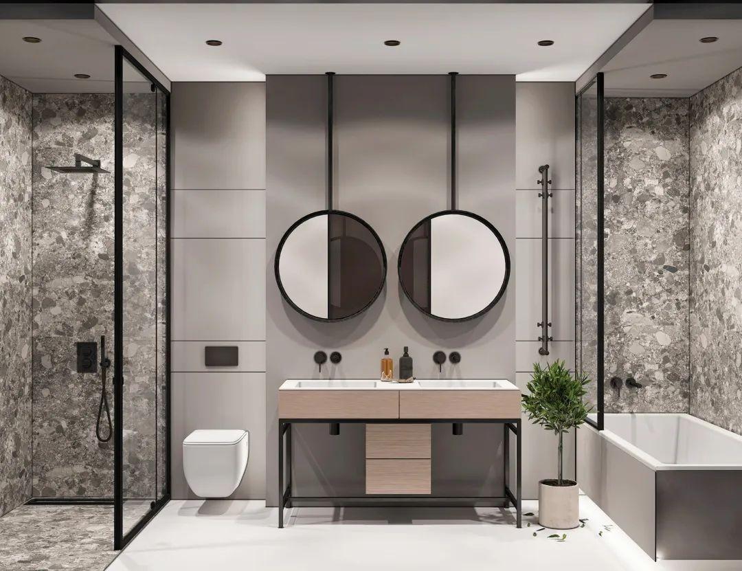 2021简单卫生间装修图片 2021简单洗漱台装饰设计