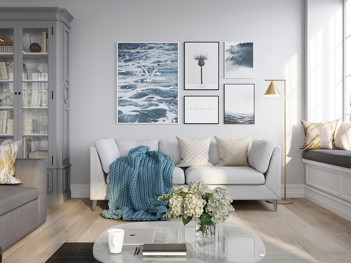 2021北欧150平米效果图 2021北欧二居室装修设计