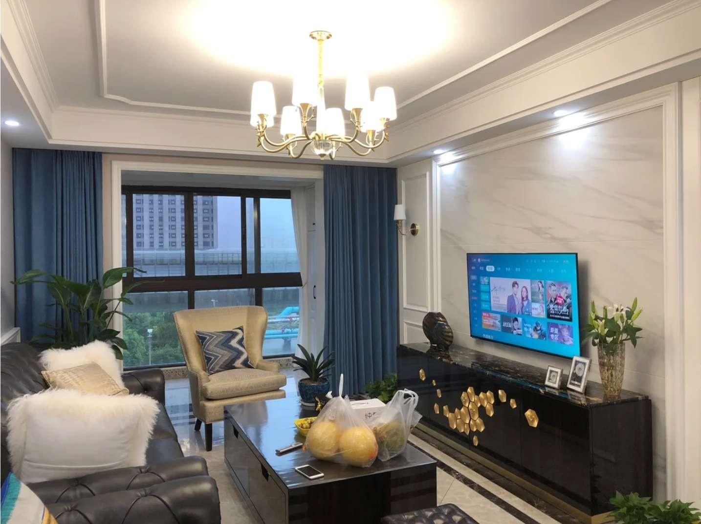 2021歐式110平米裝修設計 2021歐式三居室裝修設計圖片