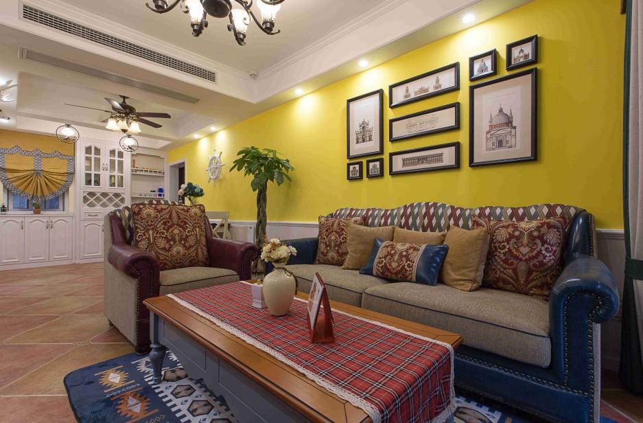 2室1卫2厅地中海风格