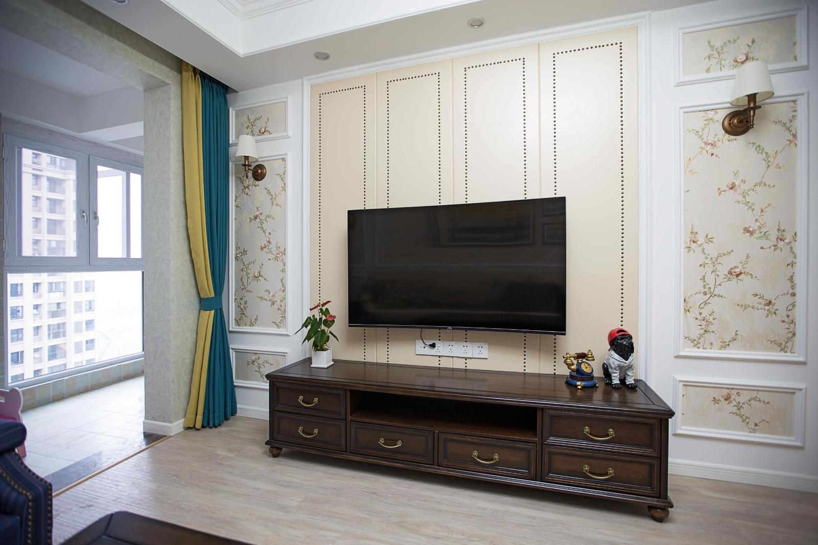 3室1卫2厅102平米美式风格