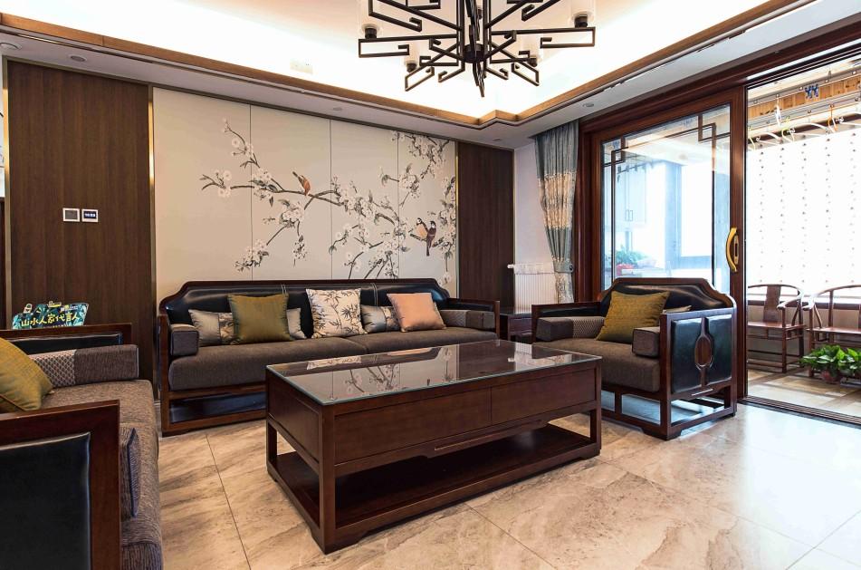 4室2卫2厅140平米新中式风格