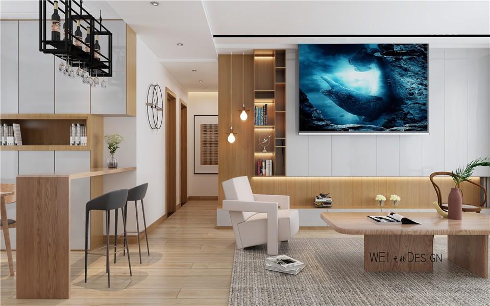 2021北欧客厅装修设计 2021北欧过道图片