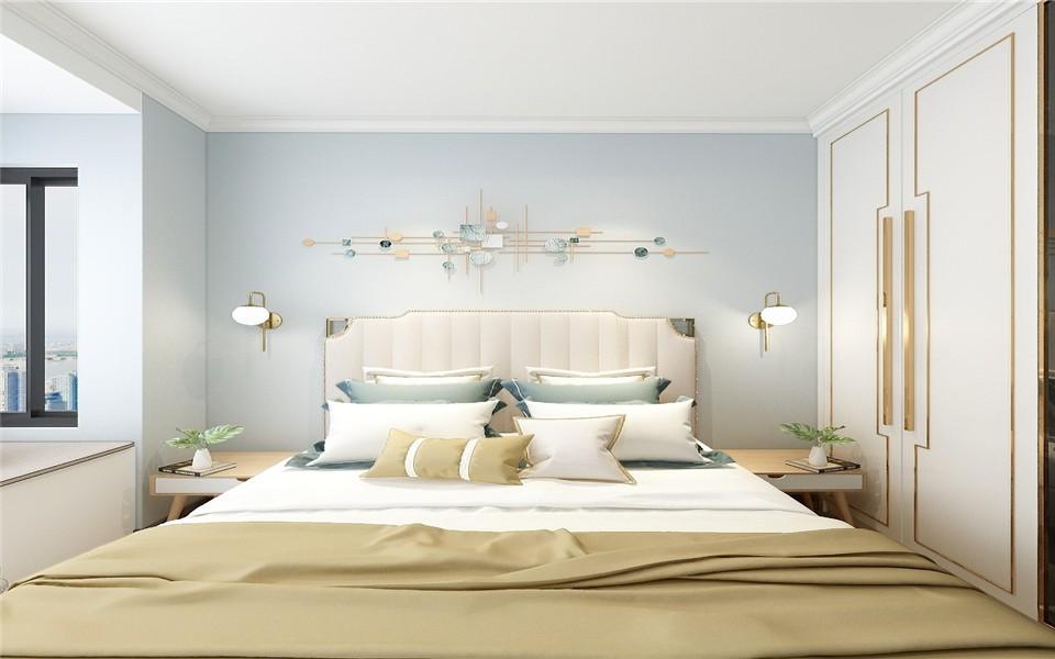 2021简中卧室装修设计图片 2021简中衣柜装修效果图片