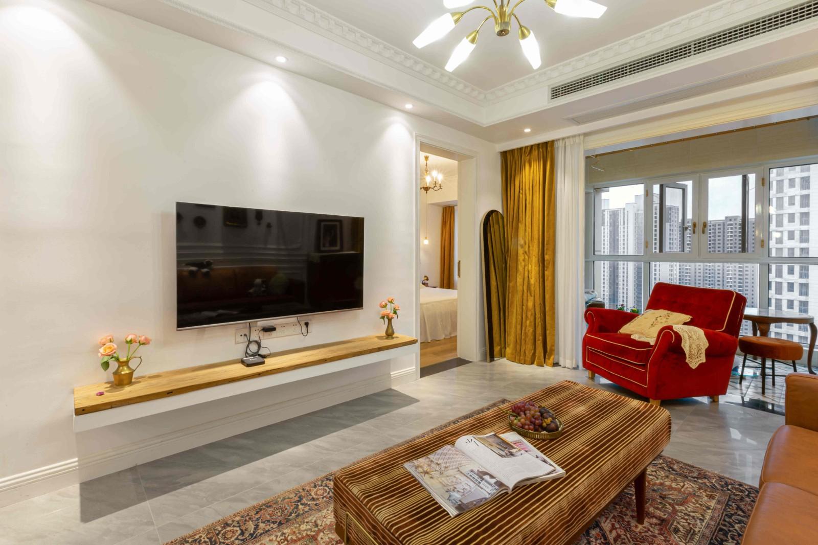 3室1卫2厅法式风格