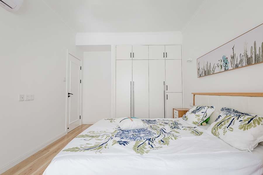 2021简约卧室装修设计图片 2021简约隐形门装饰设计
