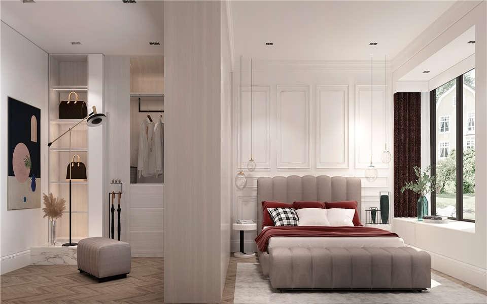 2021法式卧室装修设计图片 2021法式背景墙装饰设计