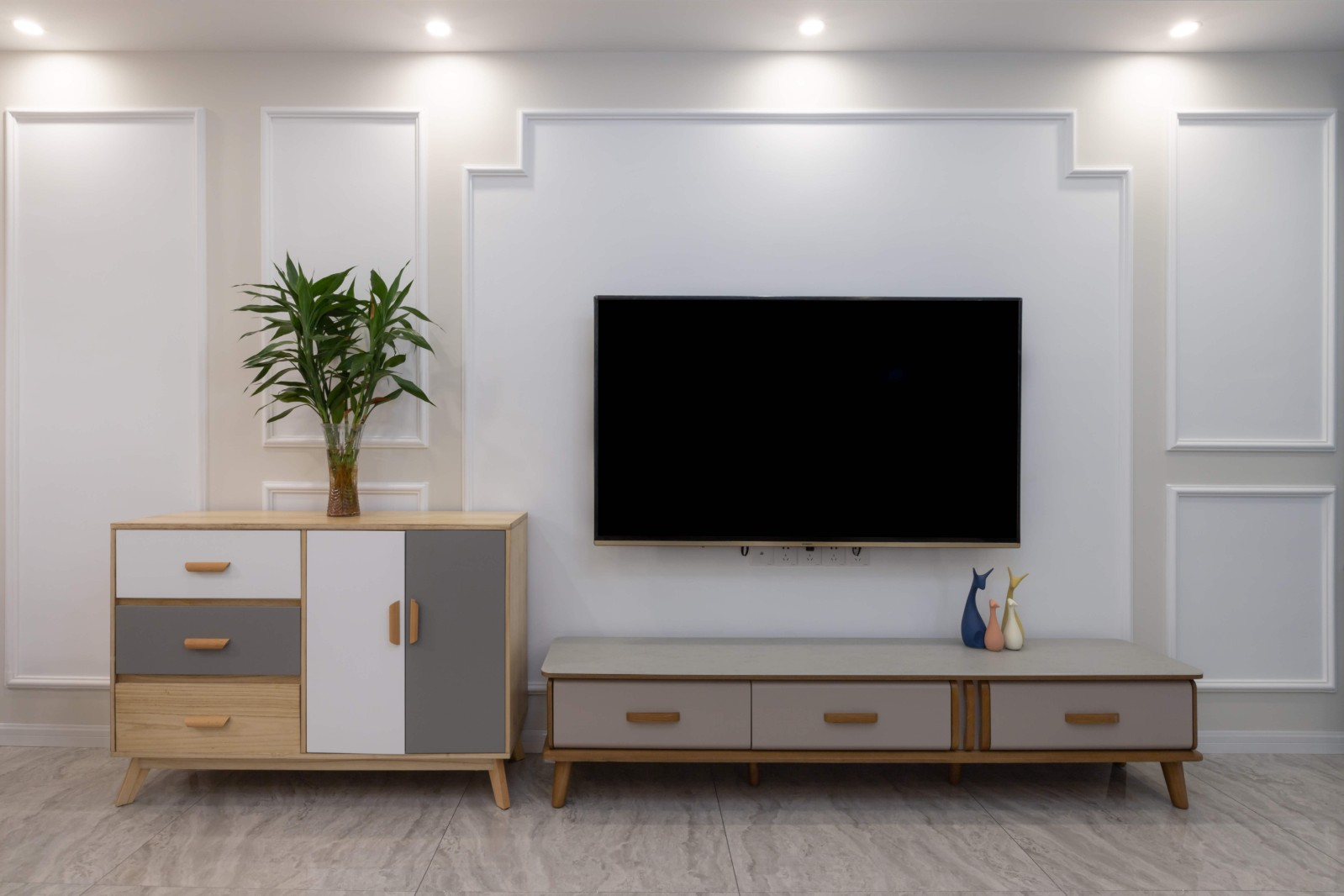 3室2卫2厅130平米北欧风格