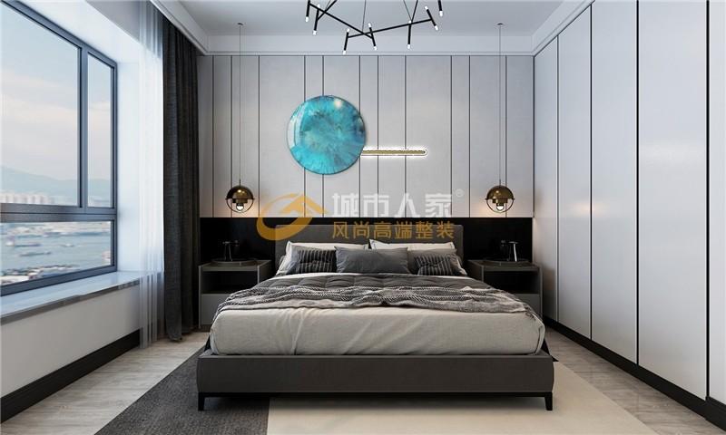 2021后现代卧室装修设计图片 2021后现代衣柜装修效果图片