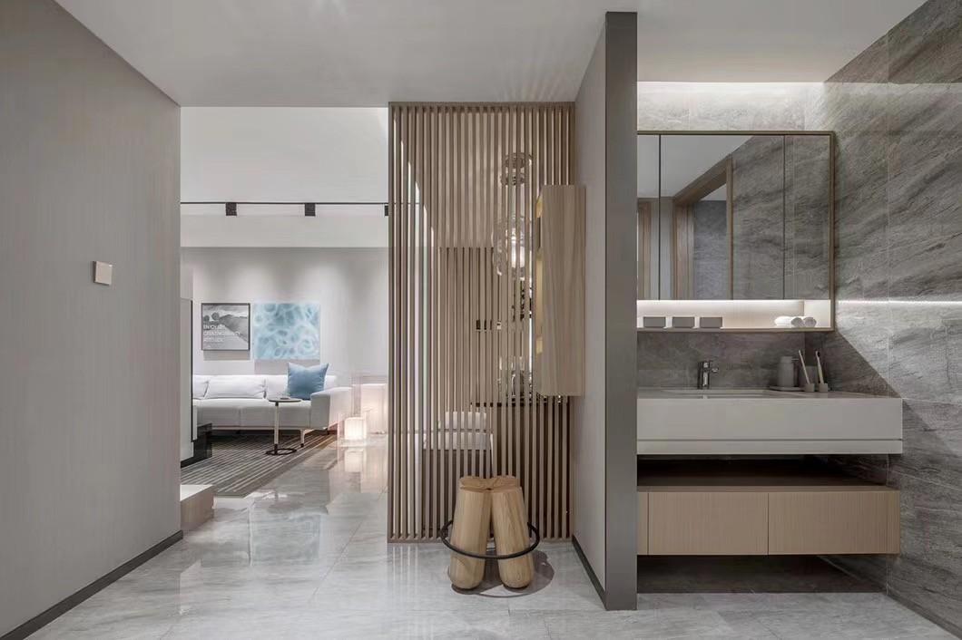2021现代浴室设计图片 2021现代洗漱台装修设计