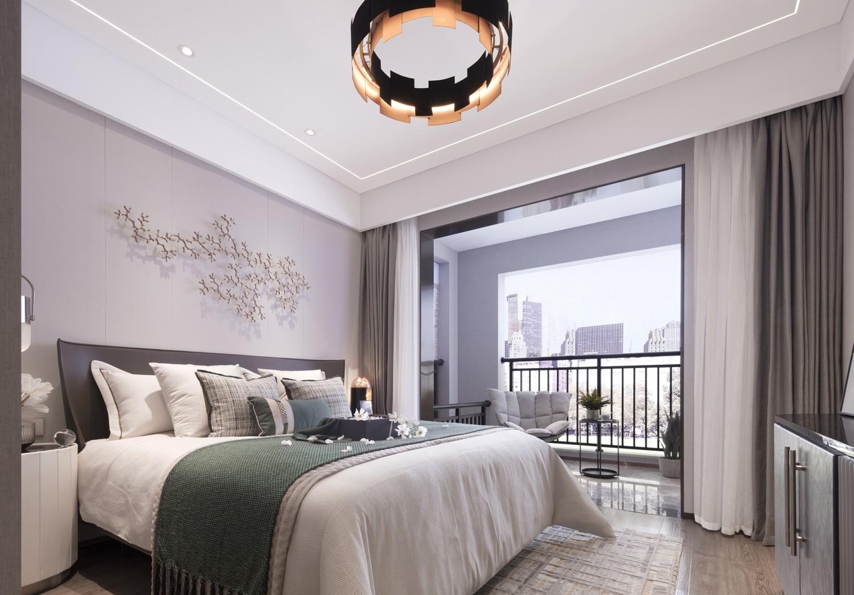 2021中式150平米效果图 2021中式套房设计图片