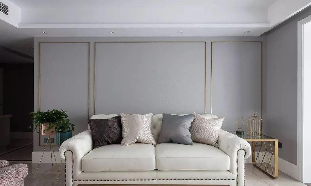 2021法式客厅装修设计 2021法式背景墙装修设计