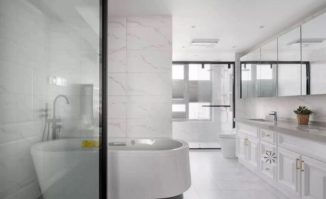 2021法式浴室设计图片 2021法式浴缸装修设计