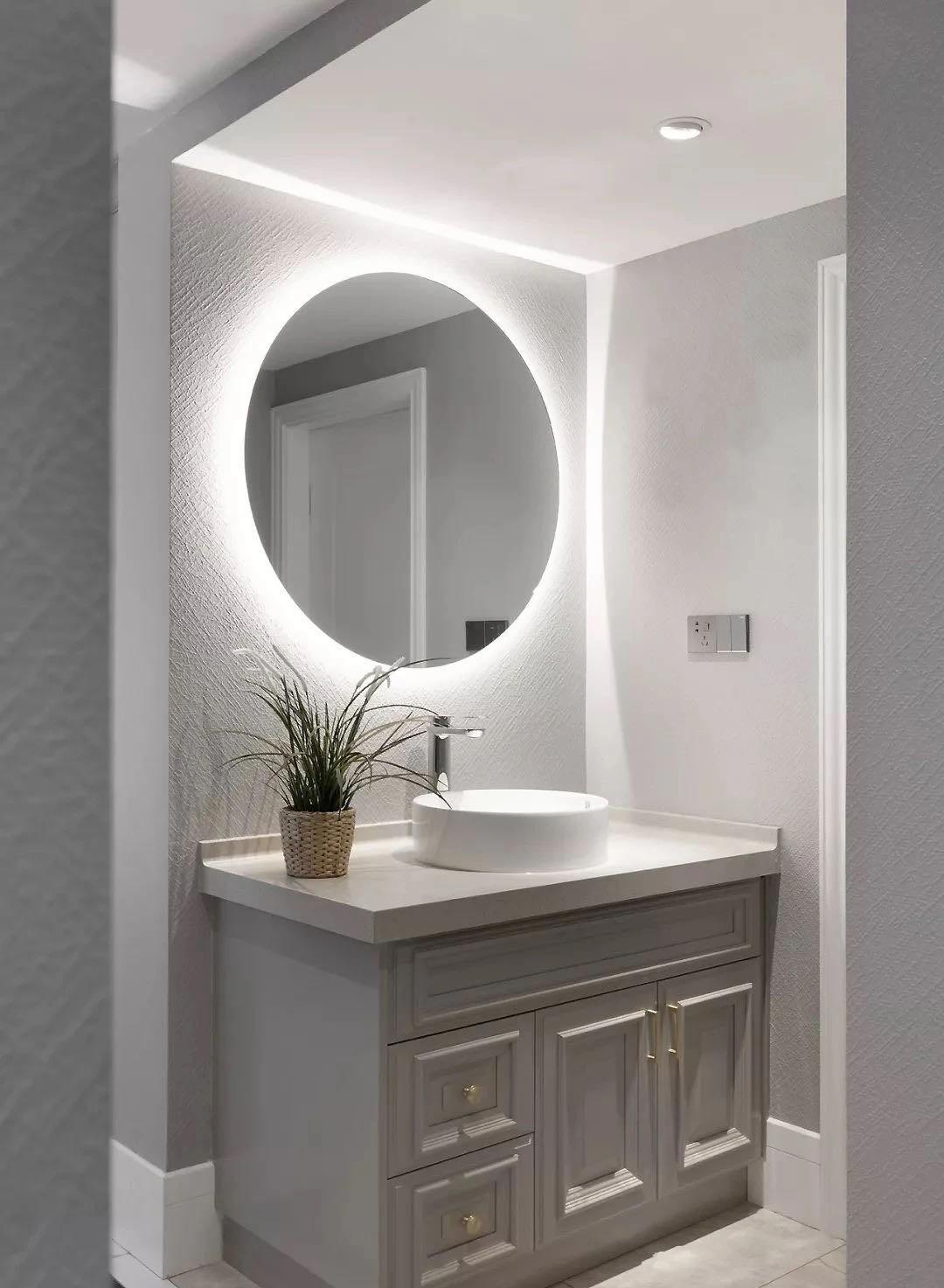 2021法式浴室设计图片 2021法式洗漱台装修设计图片