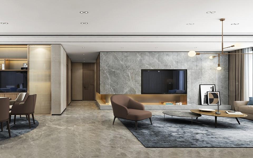 2021新古典客厅装修设计 2021新古典背景墙装修设计