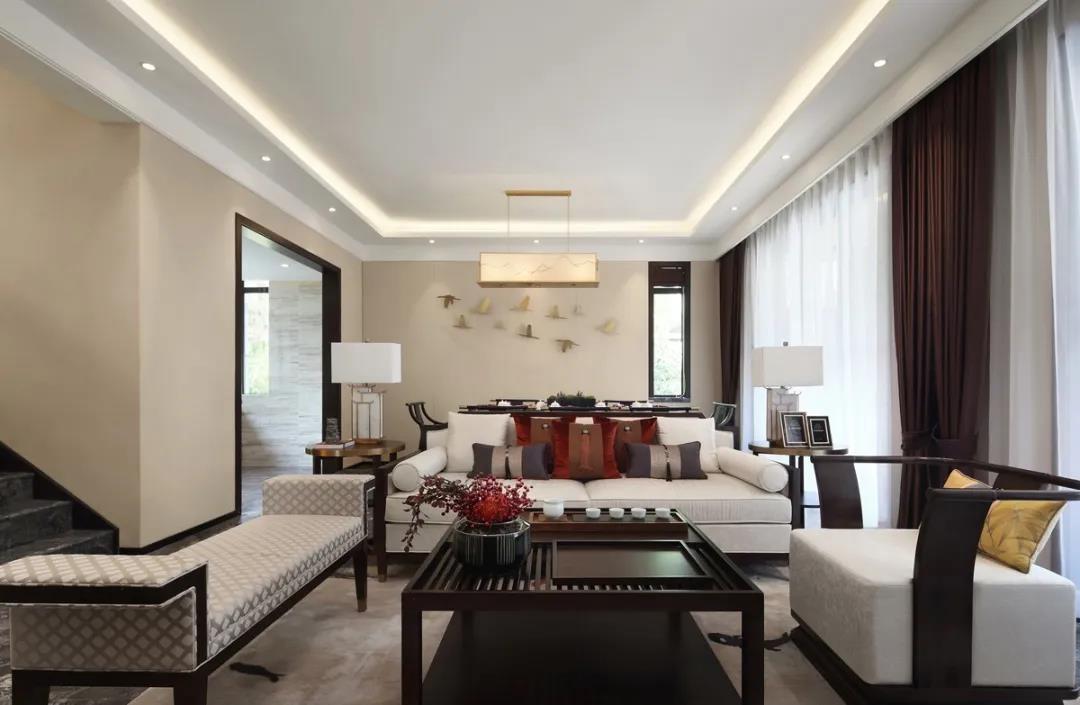 2021简中150平米效果图 2021简中公寓装修设计