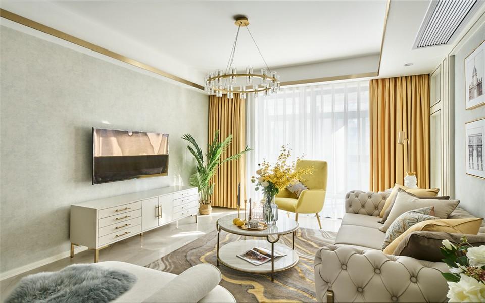 一室温馨的奢华欧式