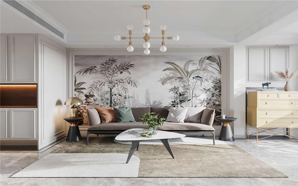 2021混搭90平米装饰设计 2021混搭二居室装修设计