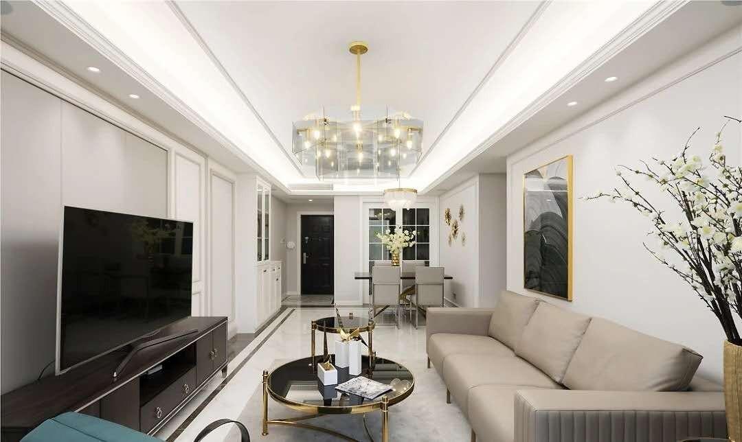 2021美式客厅装修设计 2021美式灯具图片
