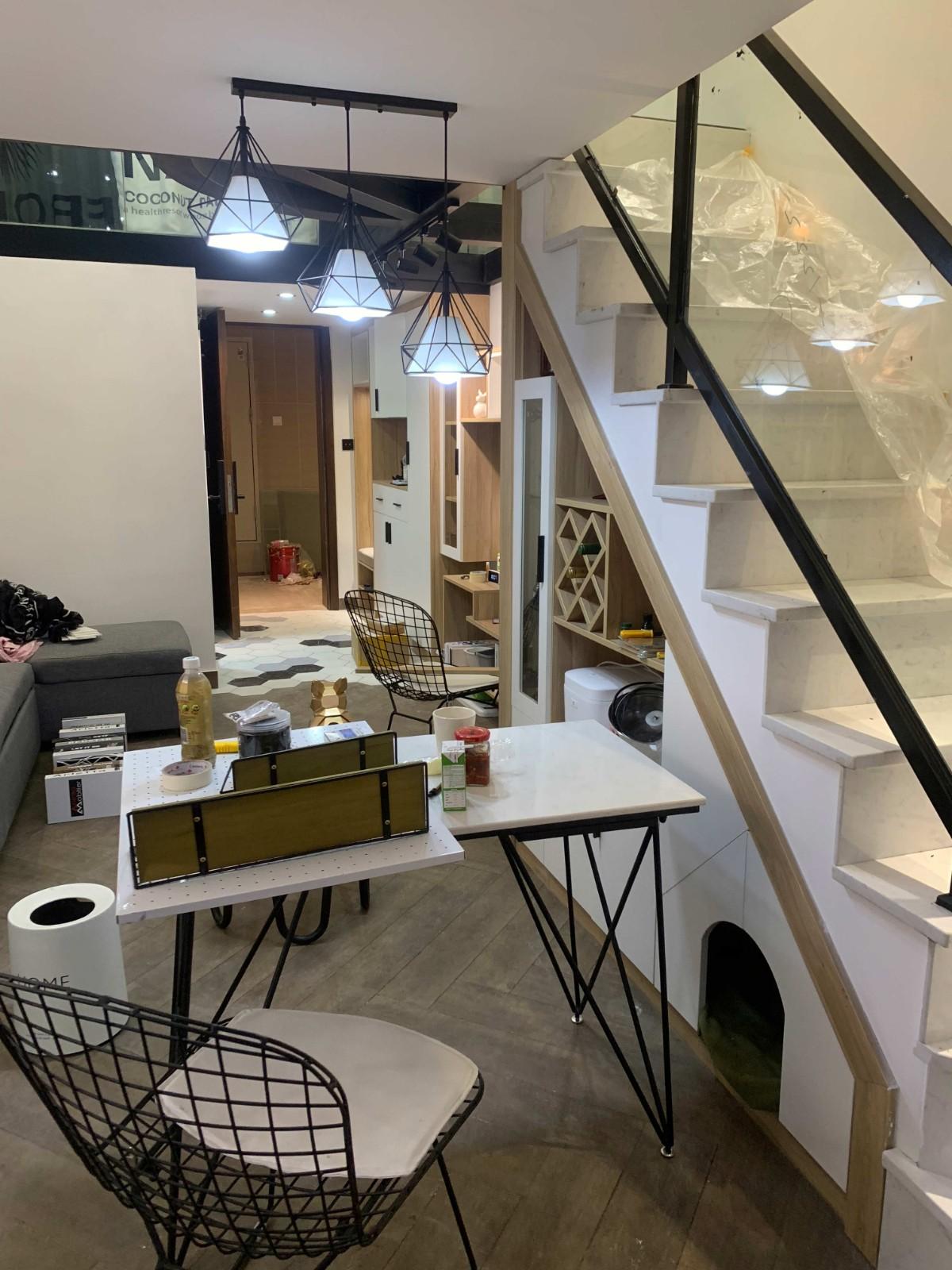 2021北欧餐厅效果图 2021北欧楼梯装修效果图片