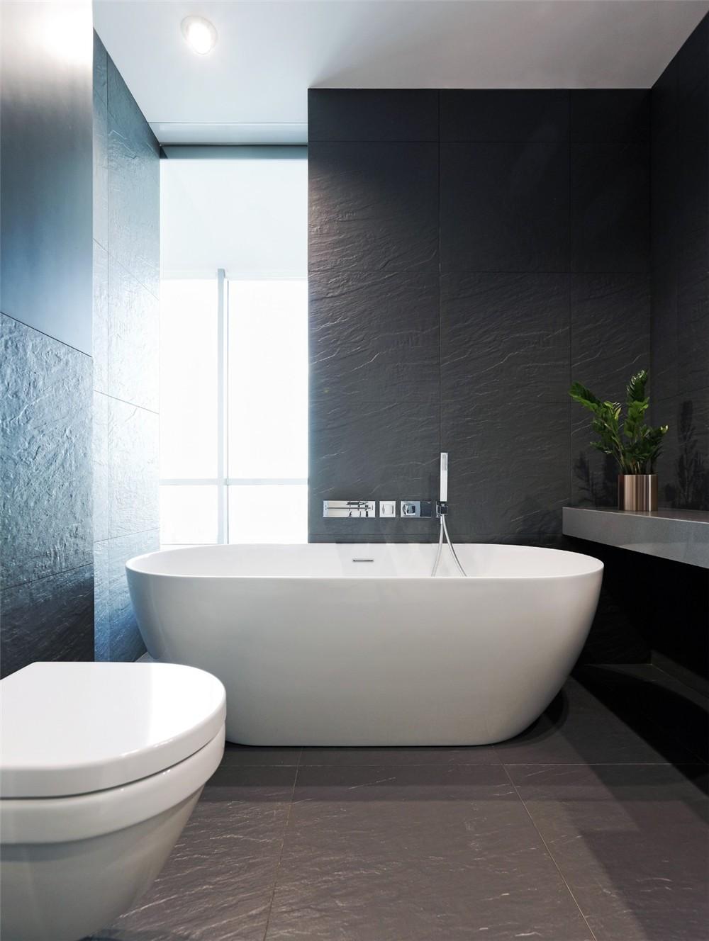2021现代简约浴室设计图片 2021现代简约浴缸装修设计