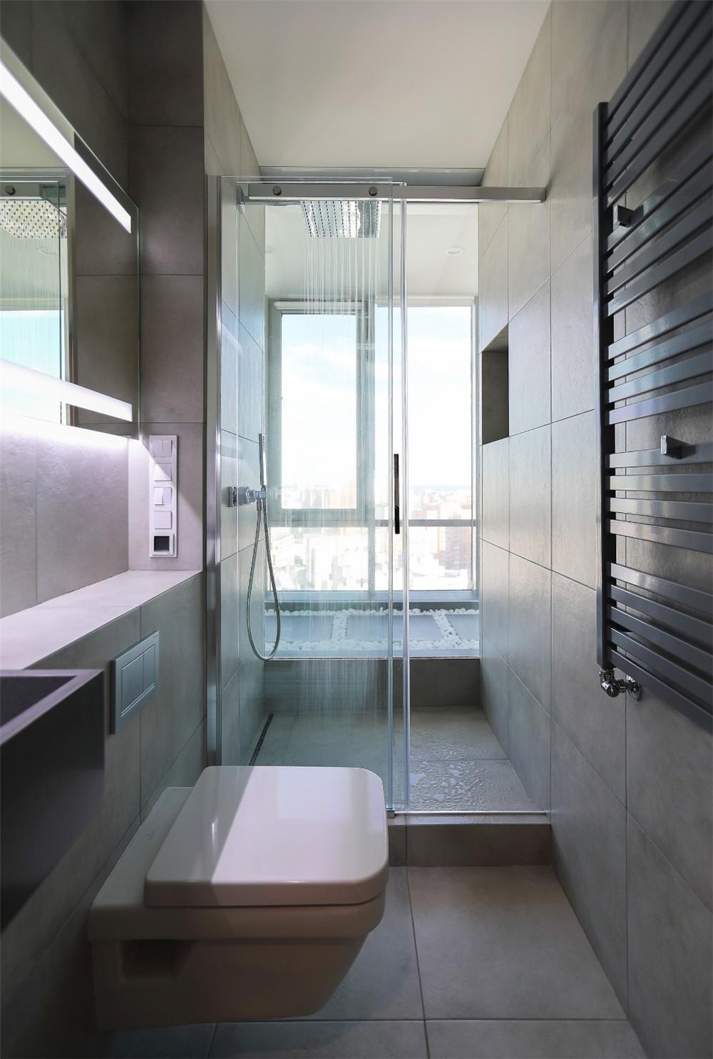 2021现代简约浴室设计图片 2021现代简约淋浴房装修设计图片
