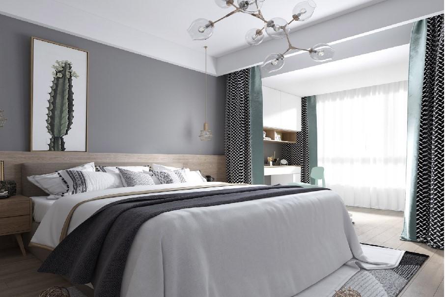 2021北欧儿童房装饰设计 2021北欧床头柜装修设计图片