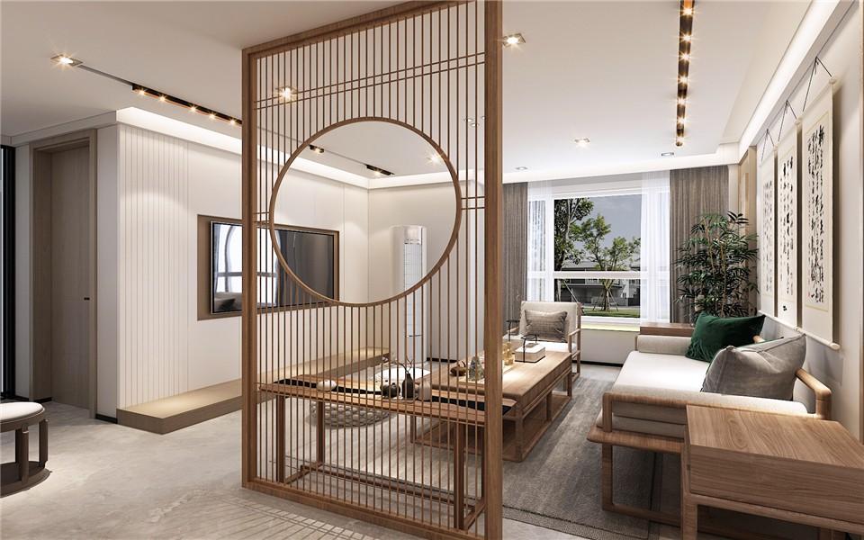 2021经典客厅装修设计 2021经典隔断装修设计