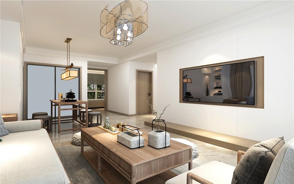 2021经典客厅装修设计 2021经典茶几装修效果图大全