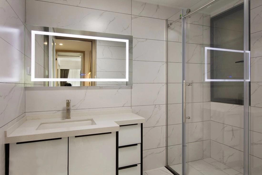 2021新中式浴室设计图片 2021新中式洗漱台装修设计图片